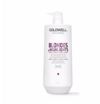 Goldwell Dualsenses Blondes & Highlights Conditioner 1lt 2017 Label