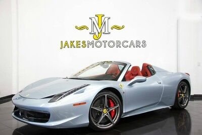 2014 Ferrari 458 Spider ($335,966 MSRP!)...SPECIAL ORDERED CAR! 2014 Ferrari 458 Spider~ $335K MSRP!~ SPECIAL ORDERED CAR~ONE-OF-A-KIND! 1-OWNER