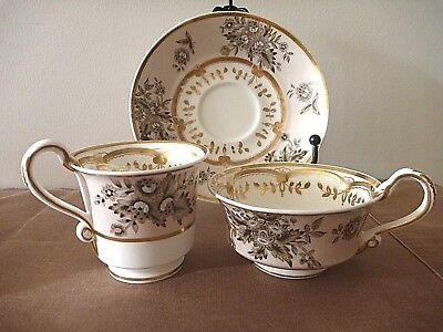 Beautiful Victorian  duo with both tea and coffee cups