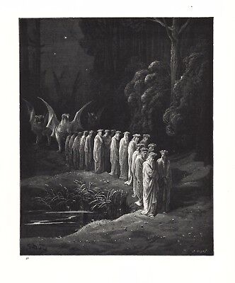 Gustave Dore: THE TWENTY FOUR ELDERS IN THE PROCESSION