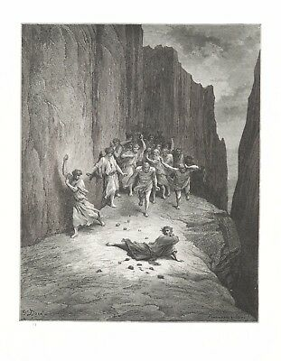 Gustave Dore: MARTYRDOM OF ST. STEPHEN