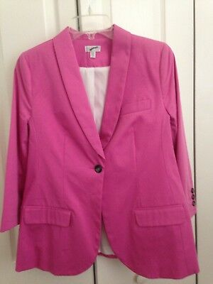 A Pea In The Pod Maternity Pink Blazer Size M