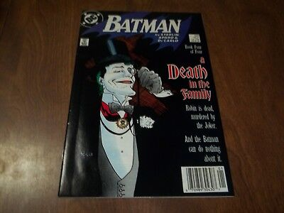 Batman #429 Vf Part 4 Death In The Family Superman App.