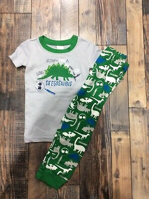 Gymboree Boys How to Find a Stegosaurus Dinosaur Dino Nwt Pjs Size 5