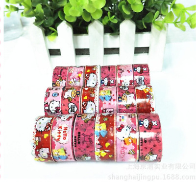 10 pcs Hello kitty 4m long washi tape xmas gift girl gift
