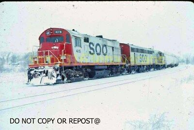 Original Slide Soo Line Rr Alco Rs27 St Paul Mn 1 29 1967 See Description!!
