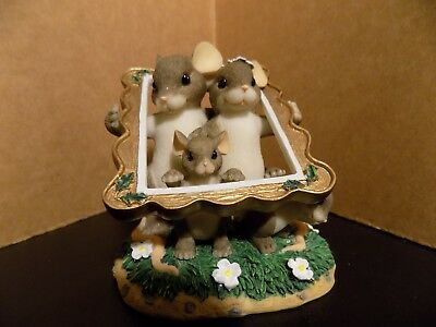 """Fitz and Floyd Charming Tails """"Family Portrait"""" 89/124"""