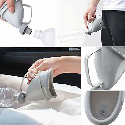 Women Female Handle Portable Urinal Travel Stand up Pee Urination Funnel Toilet
