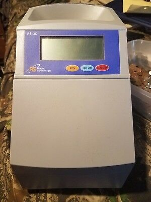 Royal Sovereign FS-3D Digital Coin Sorter 4-Row Fast Count & Roll