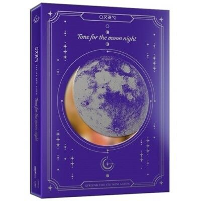 Gfriend-[Time For The Moon Night]6th Mini Night Ver CD+Book+Mark+Coaster+Gift