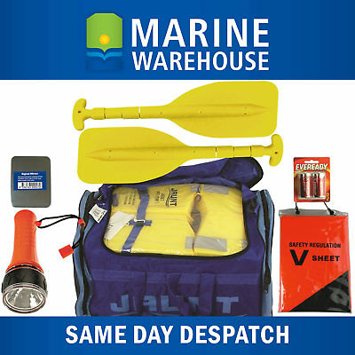 Premium Marine Safety Compliance Kit Self Contained Duffel Bag Package 308346EB