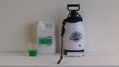 Par 3 Herbicide 4 Liter Jug with 5L Sprayer. Far superior to Killex.