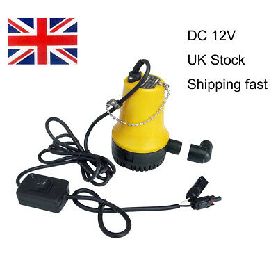Solar Power Submersible Fountain Outdoor Pool Pond Garden Water Pump DC 12V 50W