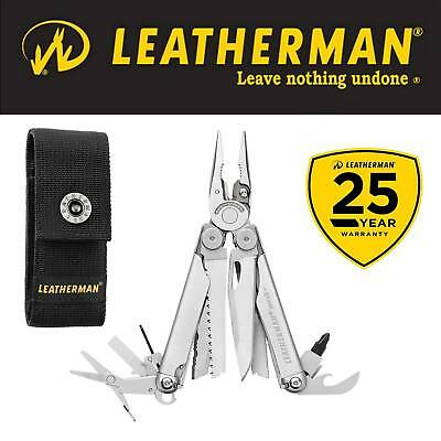 NEW 2018 RELEASE LEATHERMAN WAVE PLUS + SUPPLIED WITH SHEATH 25 Yr Wty