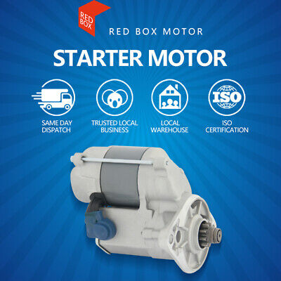 Starter Motor Fits For Holden Rodeo TF KB 2.3L/2.6L Petrol (4ZE1) 1982-1992
