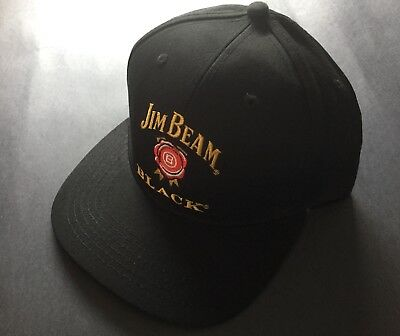 Jim Beam Black- Adjustable Cap / Hat - Brand New - Bourbon - Summer - SnapBack