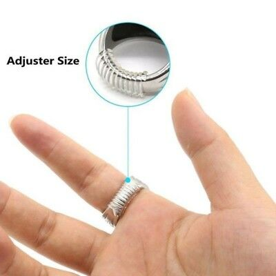 20PC Ring Size Adjuster reducer Sizer (snuggies) - 10cm long - One Size Fits All