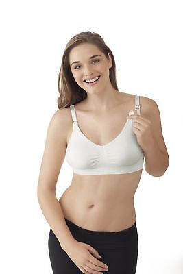 NEW Medela Ultra Stretch Nursing Bra White Small