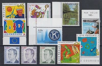 Luxembourg Timbres neufs MNH, TB