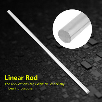 8mm Stainless Steel Linear Supported Bearing Cylinder Rails Shaft Straight Rod