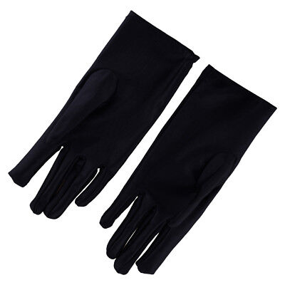 Black Medium Thin Silk Liner Inner Gloves Ski Motorcycle Skiing Cycling Walking