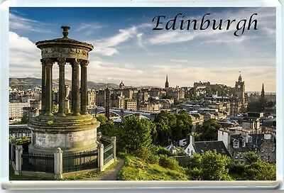 Edinburgh Scotland Fridge Magnet 1