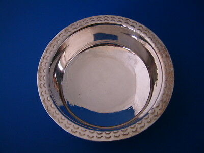 Channel Isles Silver Dish - Guernsey 2011 Bruce Russell & Son - 122gm/3.9 Troy