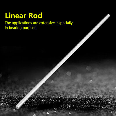 1pc 8mm 304 Stainless Steel Supported Bearing Rail Linear Shaft Round Rod 390mm