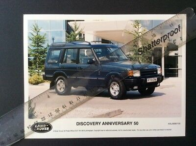Land Rover Discovery 50Th Anniversary Original Colour Press Photos 1998