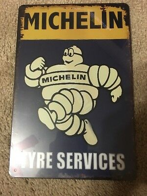 Michelin Tire Tyre Service sign U.S Seller