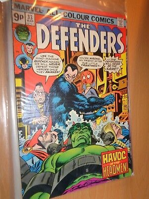 Defenders 33 Mar 1975 [9p edition]