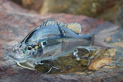 130mm Fishing Lure Hard Body 2 section Glide Bait
