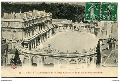 CPA -Carte postale-France - Nancy - L'Hémicycle de la Place Carrière