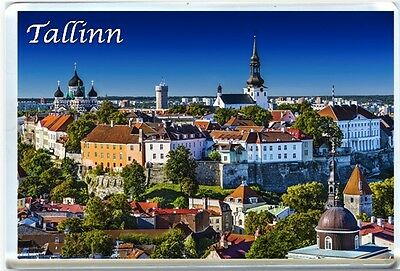 Tallinn, Estonia - Fridge Magnet-1