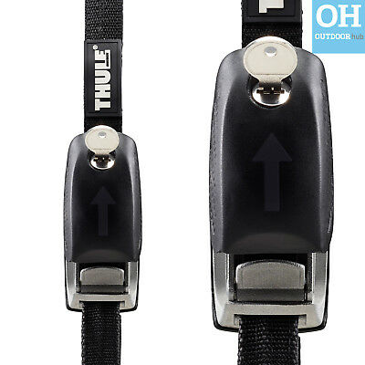 THULE Lockable Strap 841 Anti Theft Tie Down Car Van Kayak Surfboard