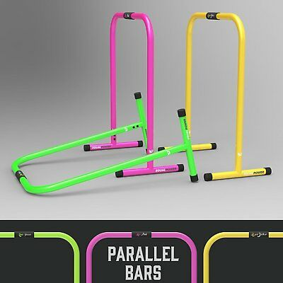 We R Sports Parallel Gymnastics Bars Dip Stands Cross fit Gymnastic Core Workout