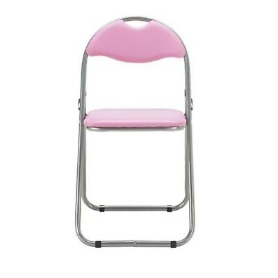 NEW HOME Padded Folding Chair Sturdy And Durable And Can Be Used Anywhere Pink