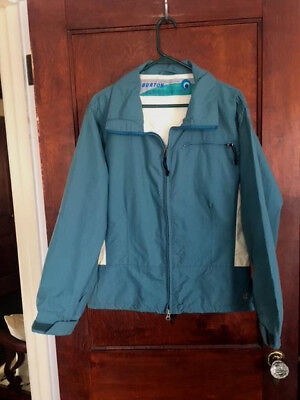 Womens BURTON SKI SNOWBOARD BIOLIGHT JACKET MEDIUM Steel Blue BIOLIGHT