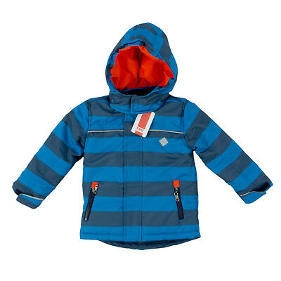 KANZ KINDER OUTDOORJACKE 1723709 Anorak Blau Gestreift 92 Jacke, Winter