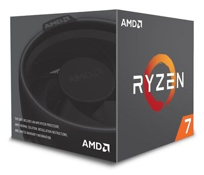 AMD Ryzen 7 2700 3.2GHz Octa Core AM4 CPU