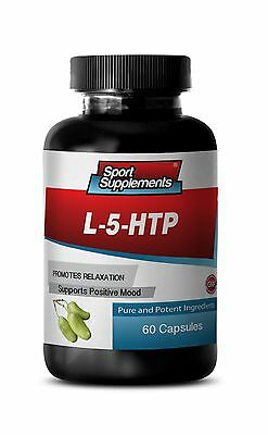 Positive Emotions Booster Supplements - L-5-HTP 377mg - Pure 5-HTP 1B