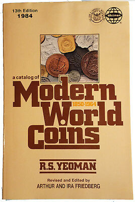 R.S. Yeoman: Modern World Coins, 13th edition