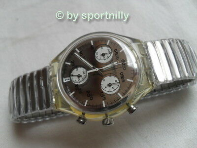 Swatch Chrono von 1998 ++ SCK415 ++ CRYSTALLOID ++
