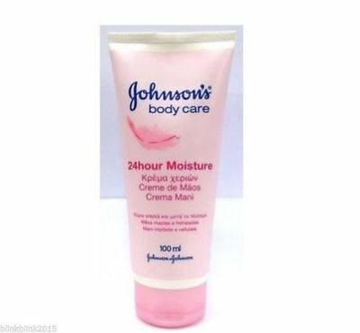 JOHNSON'S Body Care 24 Hour Moisture Hand Cream 100ml