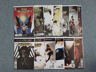 US Comic All-New Wolverine 1-13 + Annual 1 (Scottie Young Variant) Marvel X-Men