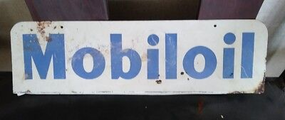 Rare Mobil Oil Sign For a Rack