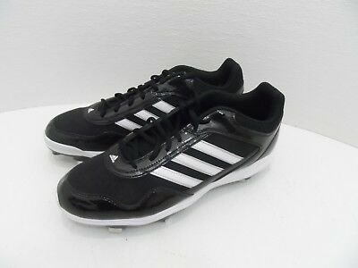 fa71df8575488 ADIDAS EXCELSIOR PRO Metal Mens Low Black/White Baseball Cleats - Size 12  -NEW