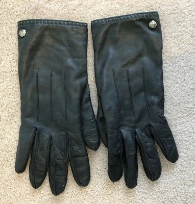 Leather Coach Gloves 7.5
