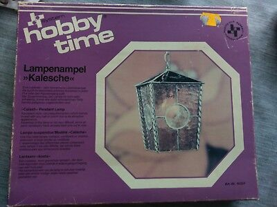 Hobby Time Bastelset für Tiffany Lampe in Orginalverpackung