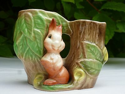 Vintage Decorative Vase by Eastgate Pottery Fauna Withernsea England